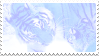 pastel tigers stamp by bulletblend
