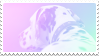 pastel dalmatian stamp by bulletblend