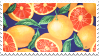 oranges stamp by bulletblend