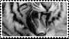 tiger teeth stamp by bulletblend