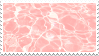 pink water stamp by bulletblend