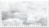 grey clouds stamp