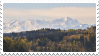 mountains + forest stamp by bulletblend