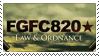 FGFC820 stamp