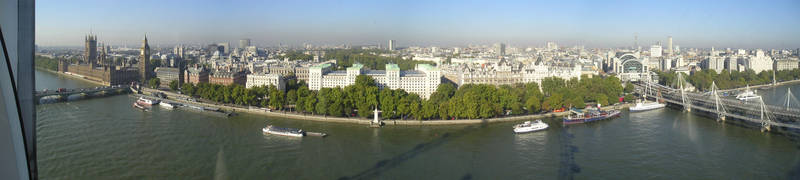 London Eye View 1 by stepone7