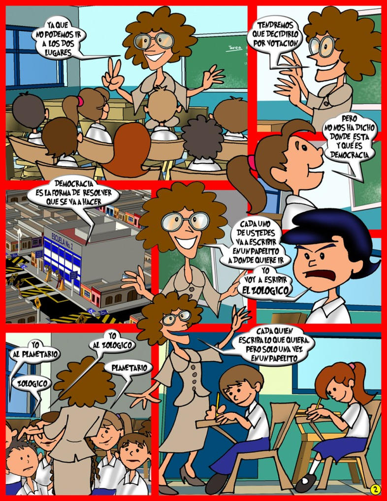 Democracia en la escuela pag 2 by chavatore