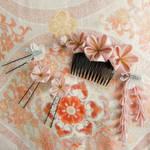 Glorious sakura kanzashi set by elblack