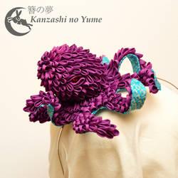 Kanzashi Sea Monster: Cranky Kraken by elblack