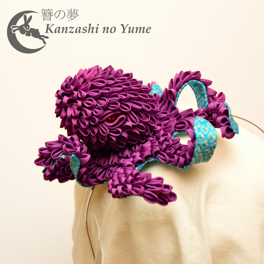 Kanzashi Sea Monster: Cranky Kraken by elblack