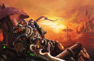 NE warrior by linxz2010