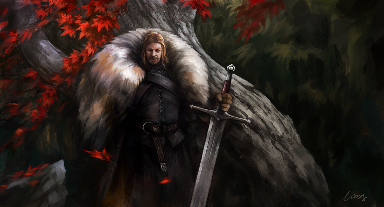 Eddard Stark by linxz2010