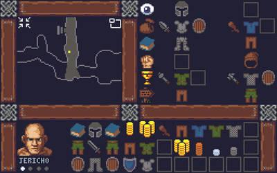 Old School RPG Mockup by ChiralPixels
