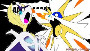 Lunar Eclipses be like- by Moe-Kai