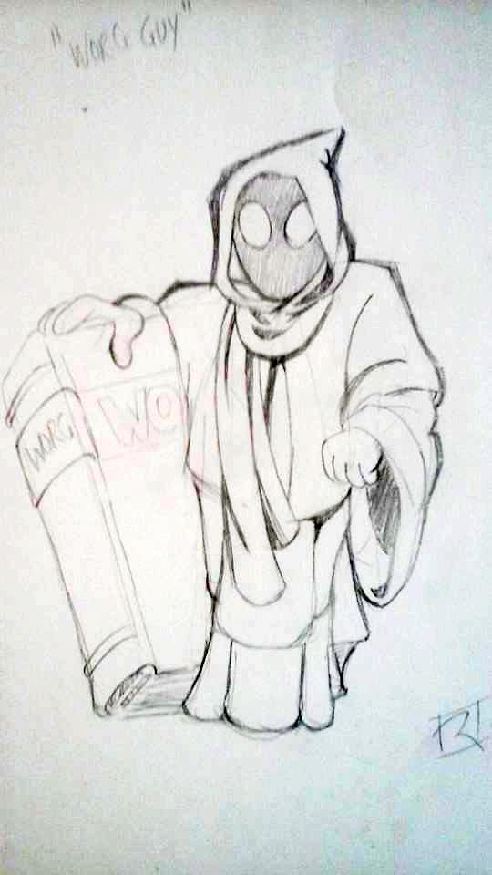 WORG Guy by CrispBoxery