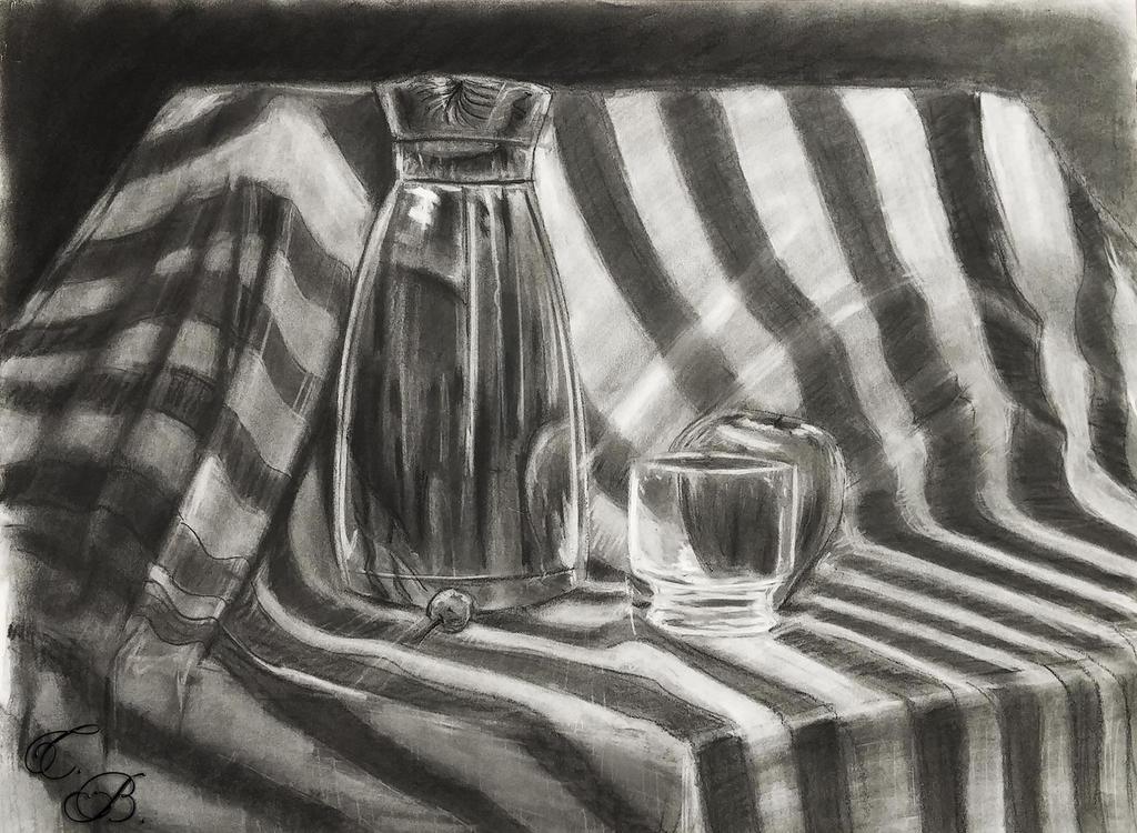 Striped still life by TwinBeastC