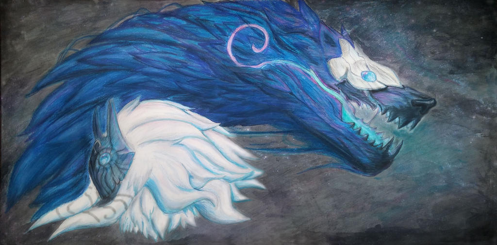 Kindred League of Legends by TwinBeastC