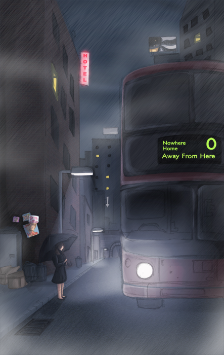 the bus by EarthKnight