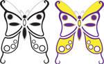 Mariposas en Vector 1