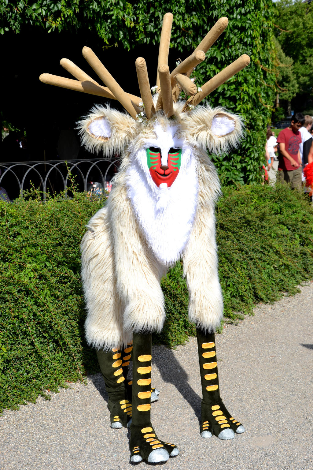 The Forest Spirit Princess Mononoke By Tatjanadasilva On Deviantart