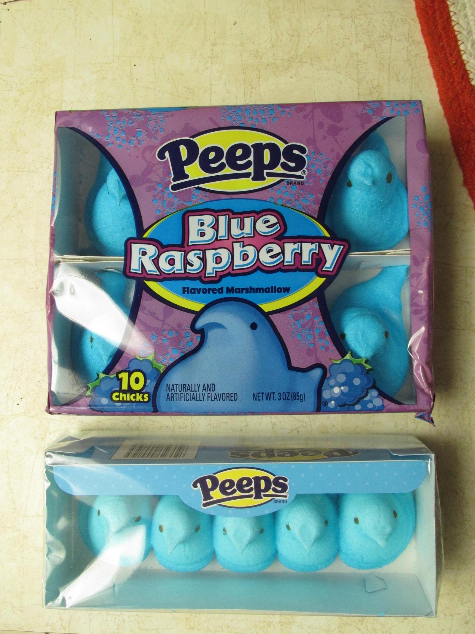 Blue Raspberry Peeps by Sorath-Rising