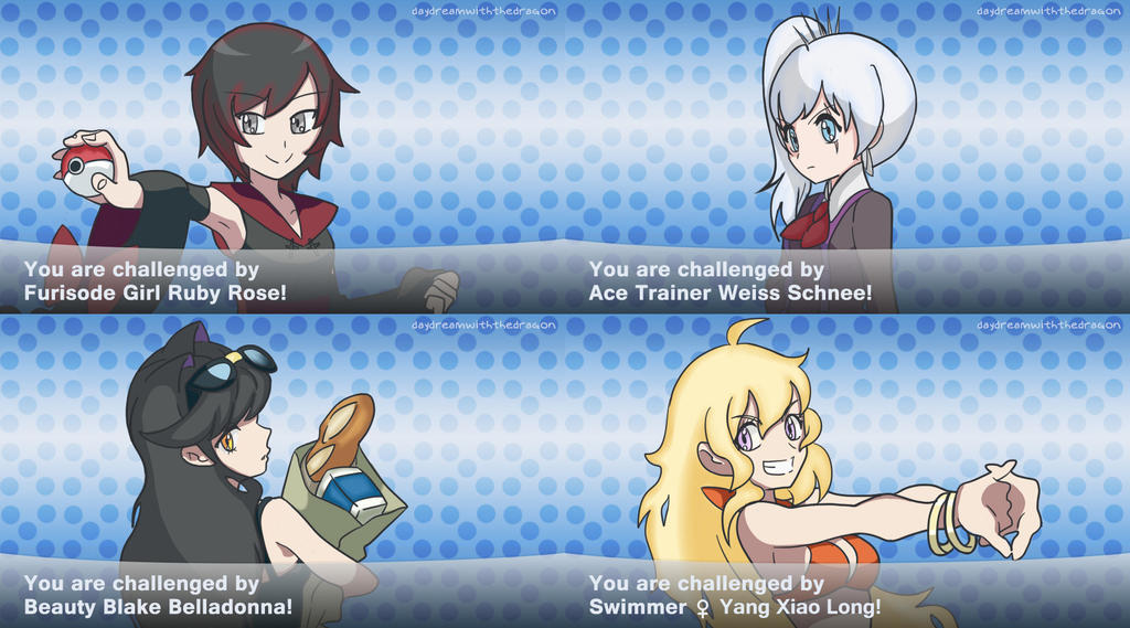 RWBY Pokemon Trainers