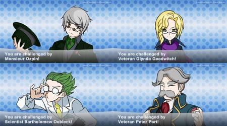 Beacon Staff Pokemon Trainers