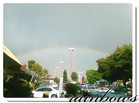 Rainbows in Puebla