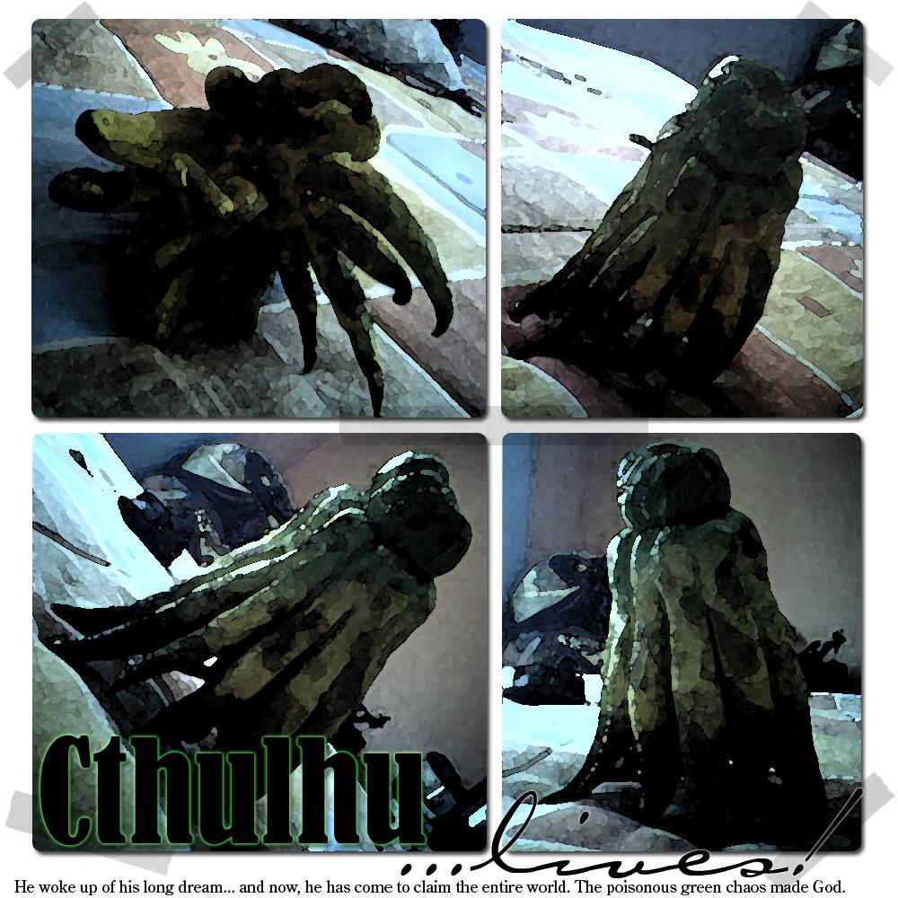 Cthulhu lives by aska314