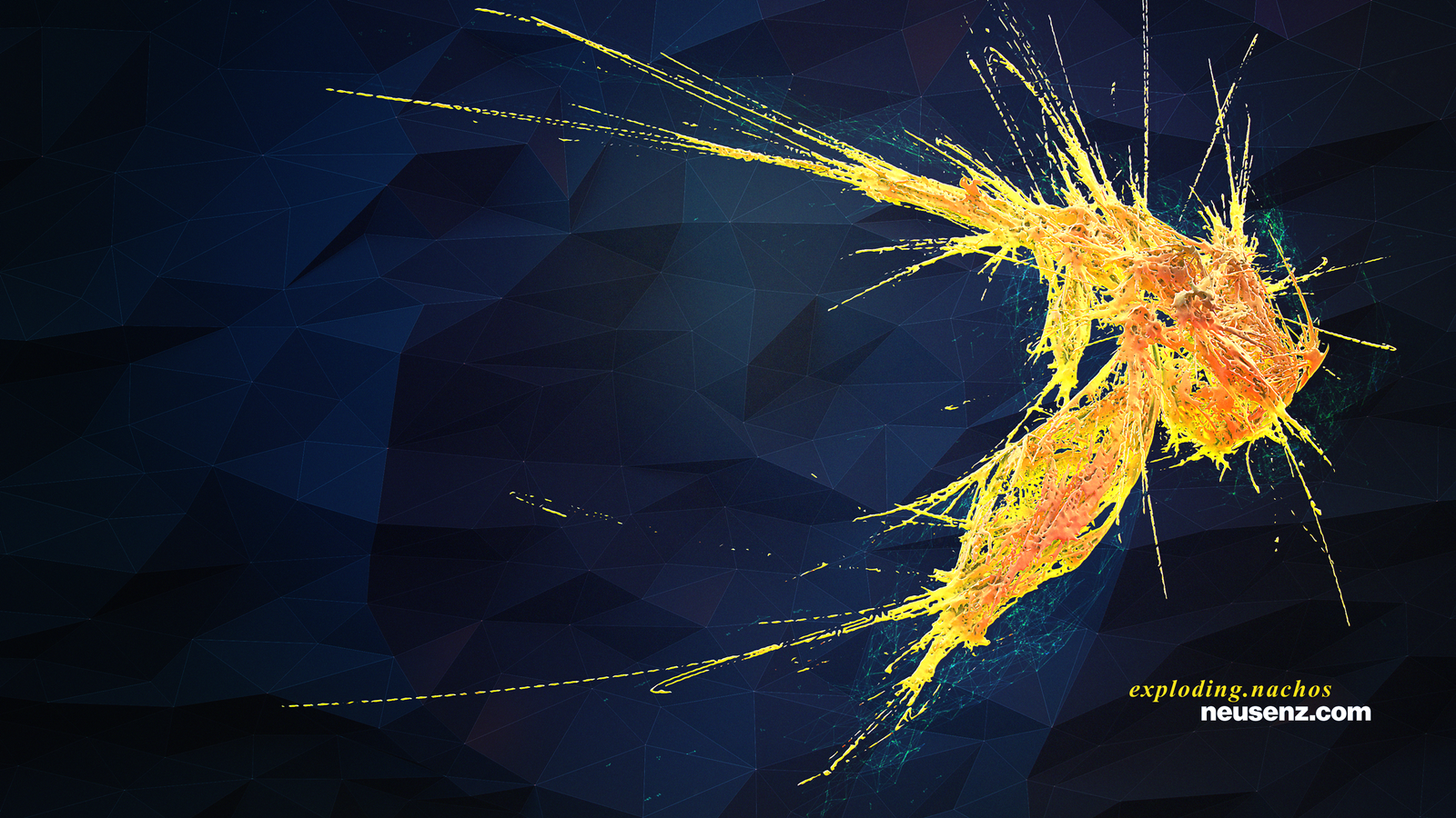 Exploding Nachos by neutrix