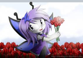 tulip field X3 by Dj-Reverberance