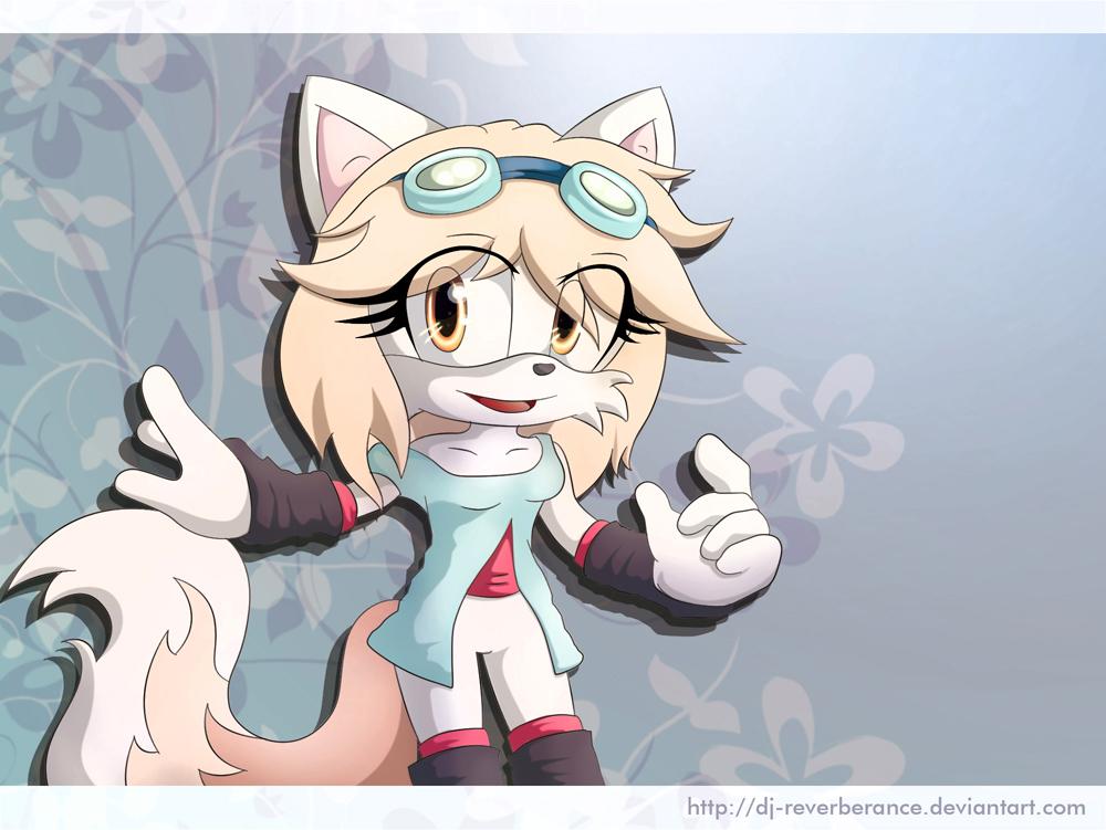 Yuki the arctic fox by Dj-Reverberance