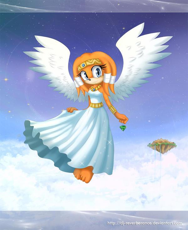 Ancient Angel - Tikal by Dj-Reverberance