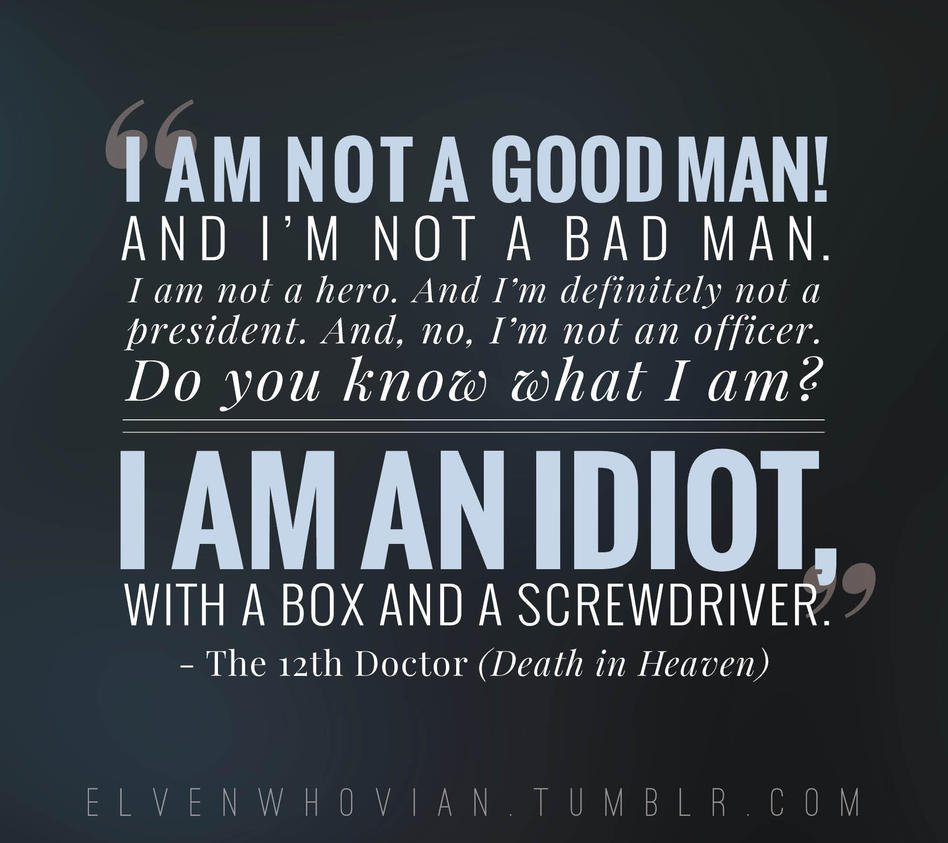 Death Quote Death In Heaven  Quote 3Elvenwhovian On Deviantart