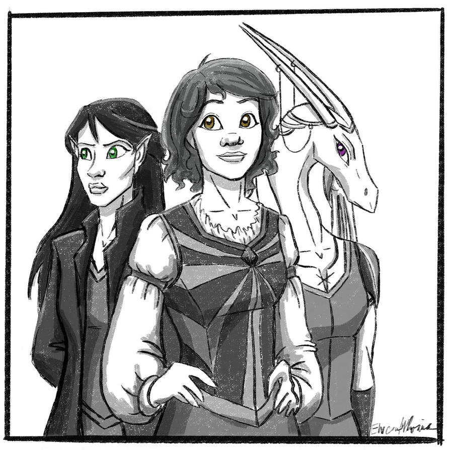 The three by ElvenWhovian