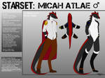 Micah Reference 2017  (NSFW version in desc.) by ACIDlC