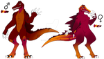 Spinosaurus Adopts | Cheap Auction OPEN by ACIDlC