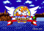 Miles ''Tails'' Prower in Sonic 1's Title Screen