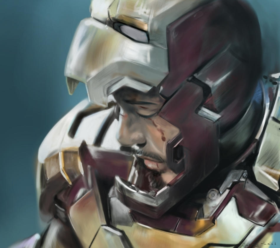 Iron Man 3 speedpainting by speedy-painter