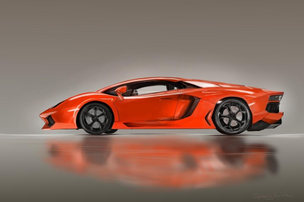 Aventador by speedy-painter