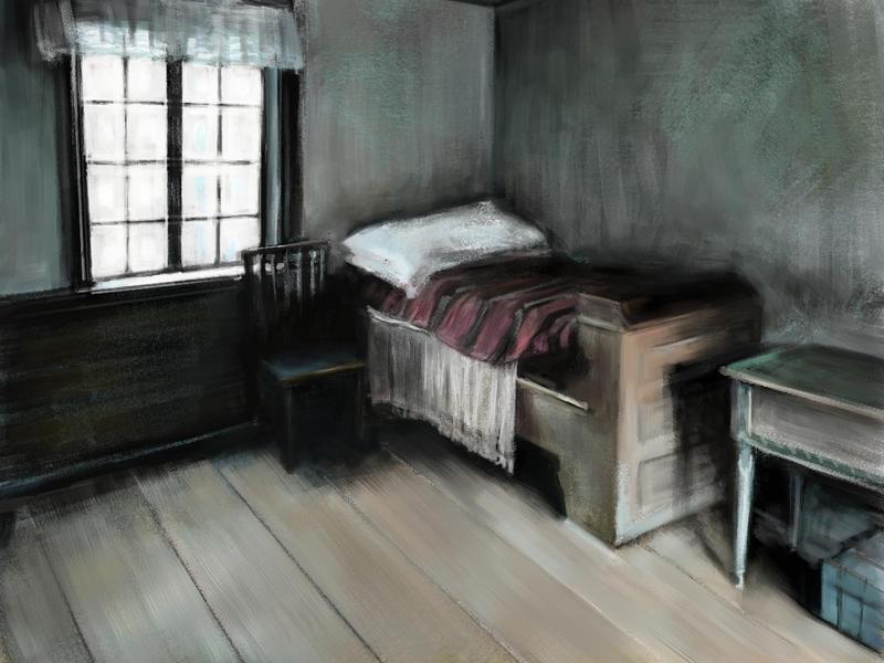 Skansen - ancient room by speedy-painter