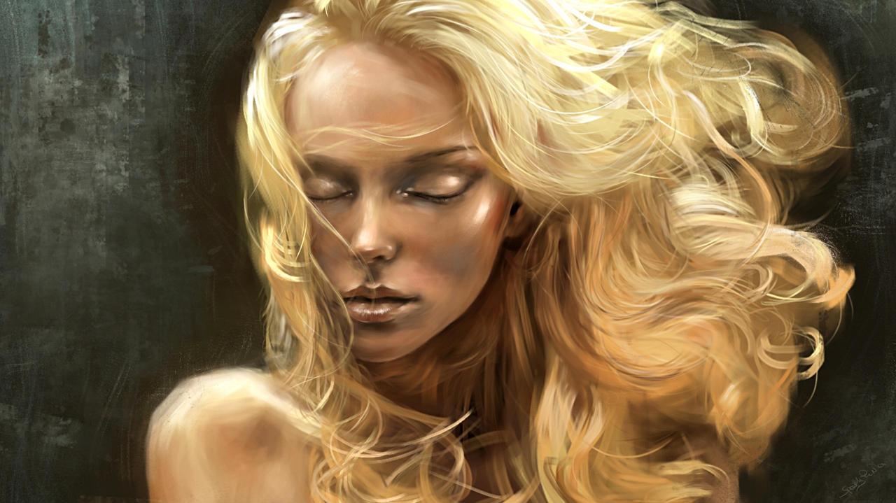 golden hair v2 by speedypainter on deviantart