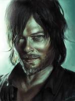 Daryl Dixon - digital portrait