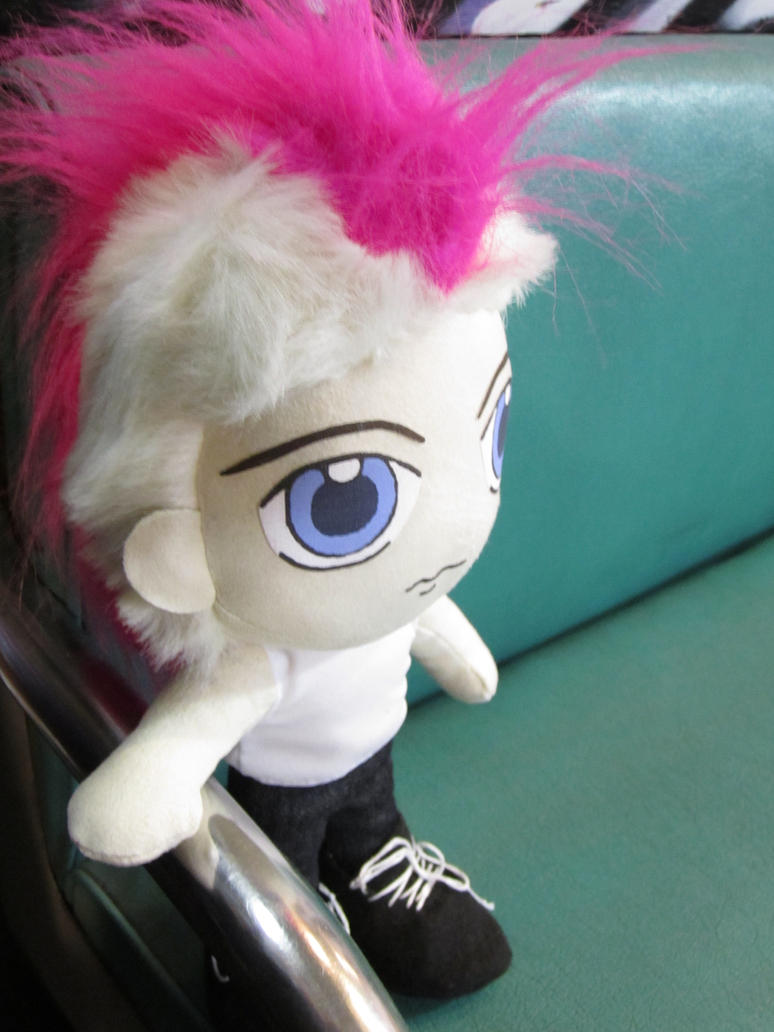 Jared Leto Doll on the Train by ToxicLoli