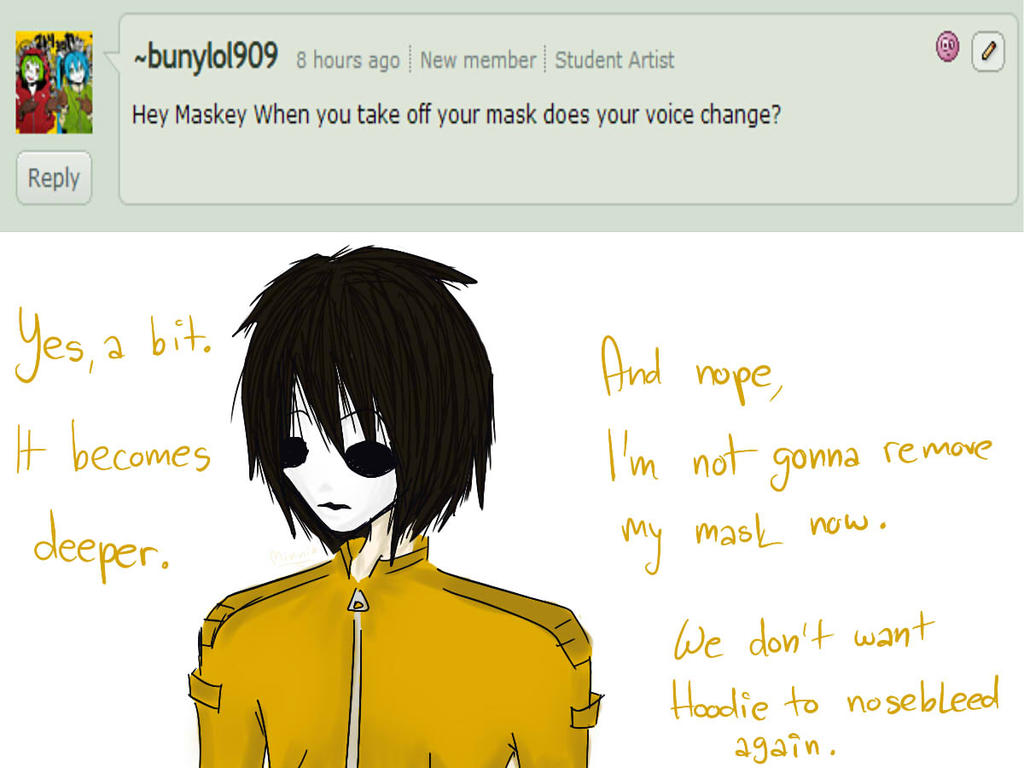 Masky Creepypasta Without Mask