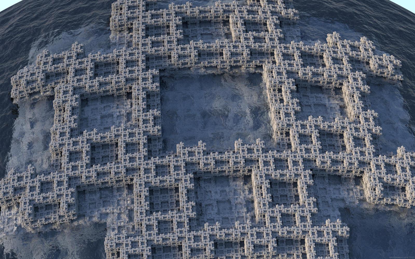 Fractal Pound 3D Island by beason