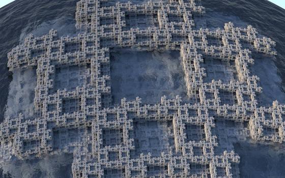 Fractal Pound 3D Island