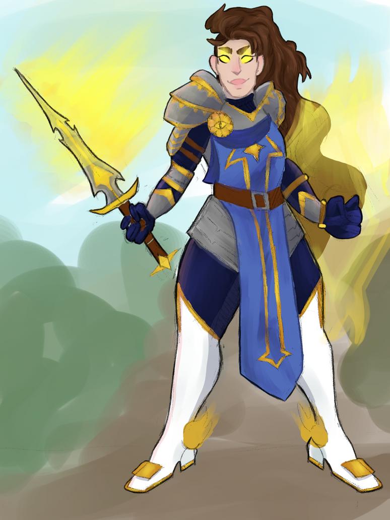 Knight lady by quartzbby