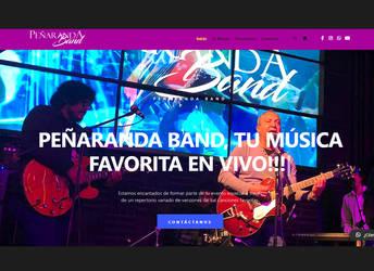 Penaranda Band Website