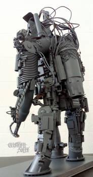 Cyber robot art concept