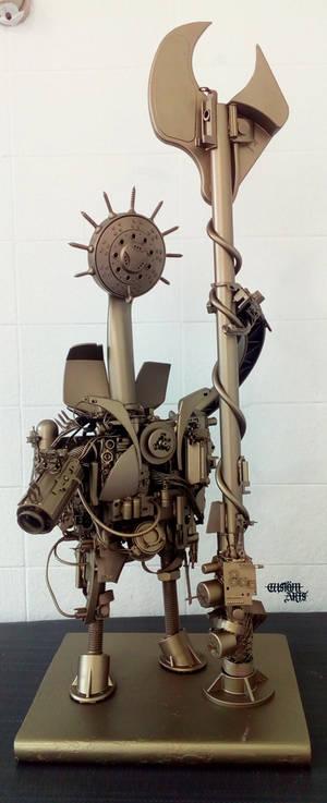 Steampunk Robot C1